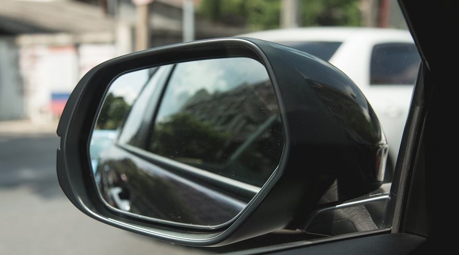 Taxi wing mirror