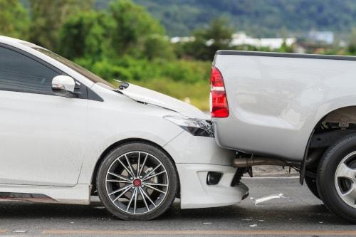 Car crashed